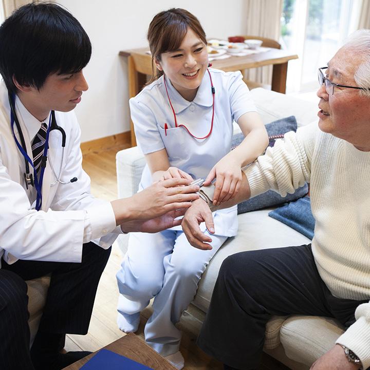 訪問看護におけるケア